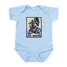 USS BENNER Infant Creeper