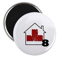 "Big Brother 8 2.25"" Magnet (10 pack)"