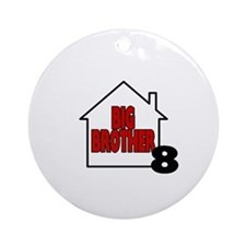 Big Brother 8 Ornament (Round)