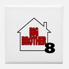 Big Brother 8 Tile Coaster