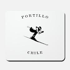 Portillo Chile Ski Mousepad