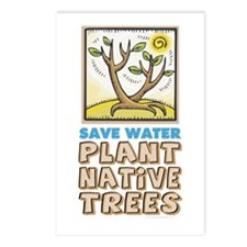 Plant Native Trees Postcards (Package of 8)