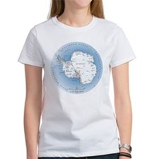 Map Antarctica Tee