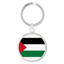 Cute Country flag Round Keychain