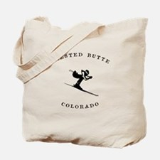 Crested Butte Colorado Ski Tote Bag