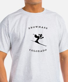 Snowmass Colorado Ski T-Shirt