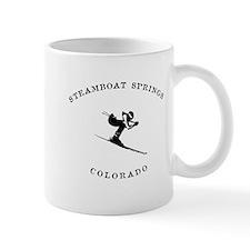 Steamboat Springs Colorado Ski Mugs