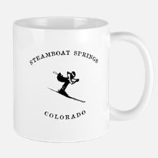 Steamboat Springs Colorado Ski Mugs