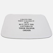 psycho joke gifts t-shirts Bathmat