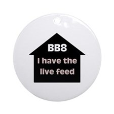 BB8 Live Feed Ornament (Round)