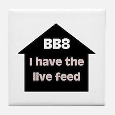 BB8 Live Feed Tile Coaster