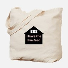 BB8 Live Feed Tote Bag