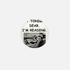 reading Mini Button (10 pack)