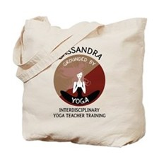 Grounded By Yoga - Personalized Tote Bag - Cassand