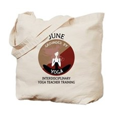 Grounded By Yoga - Personalized Tote Bag - June To