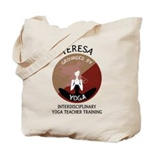 Grounded By Yoga - Personalized Tote Bag - Teresa