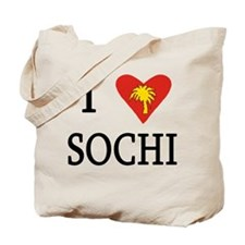 I Love Sochi Russia Tote Bag