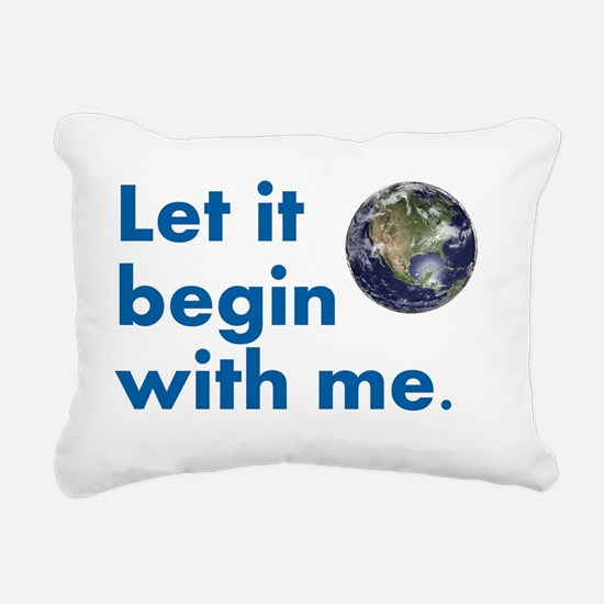 LetItBegin Rectangular Canvas Pillow