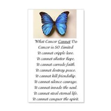 What Cancer Cannot Do.jpg Wall Decal