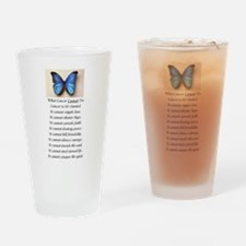 What Cancer Cannot Do.jpg Drinking Glass