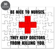 Be Nice To Nurses Puzzle