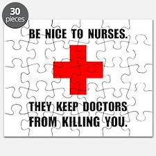 Be Nice To Nurses Puzzle