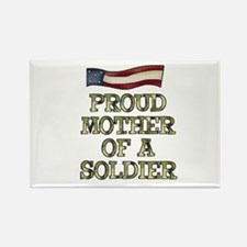 Mother of a Soldier Rectangle Magnet