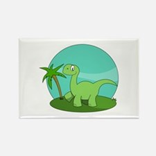 Cartoon Brontosaurus Magnets