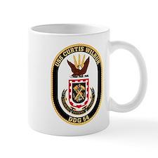 USS CURTIS WILBUR Small Mug