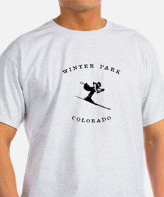 Winter Park Colorado Ski T-Shirt