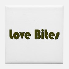 Love Bites Tile Coaster