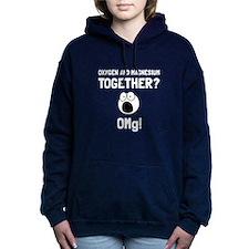 OMG Oxygen Magnesium Women's Hooded Sweatshirt