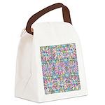 Pastel Bursts 1 Canvas Lunch Bag
