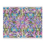 Pastel Bursts 1 Throw Blanket