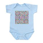 Pastel Bursts 1 Infant Bodysuit