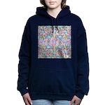 Pastel Bursts 1 Women's Hooded Sweatshirt
