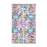 Pastel Bursts 1 35x21 Wall Decal