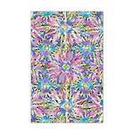Pastel Bursts 1 Mini Poster Print