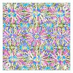 Pastel Bursts 1 5.25 x 5.25 Flat Cards