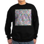 Pastel Bursts 1 Sweatshirt (dark)