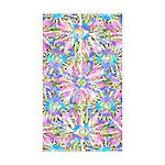 Pastel Bursts 1 Sticker (Rectangle 10 pk)