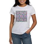 Pastel Bursts 1 Women's T-Shirt