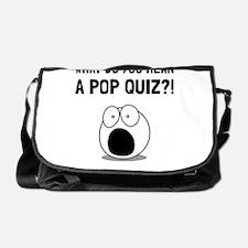 Pop Quiz Messenger Bag