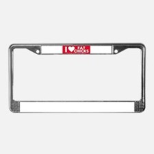 Cool Nudes License Plate Frame