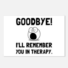 Remember You In Therapy Postcards (Package of 8)