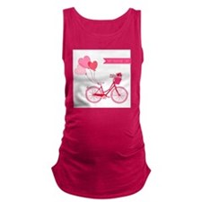 valentines day Maternity Tank Top