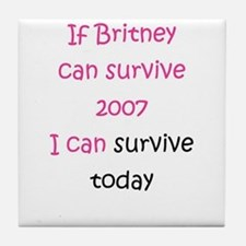 Britney spears Tile Coaster