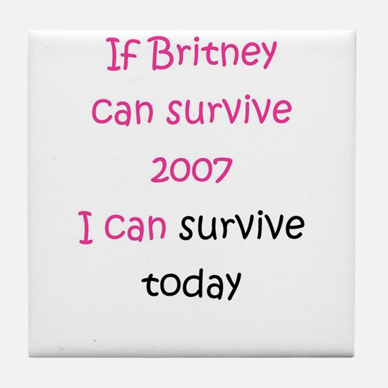 Britney spears Tile Coaster