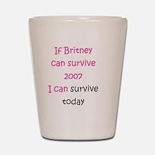 Britney spears Shot Glass