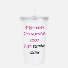 Britney spears Acrylic Double-wall Tumbler